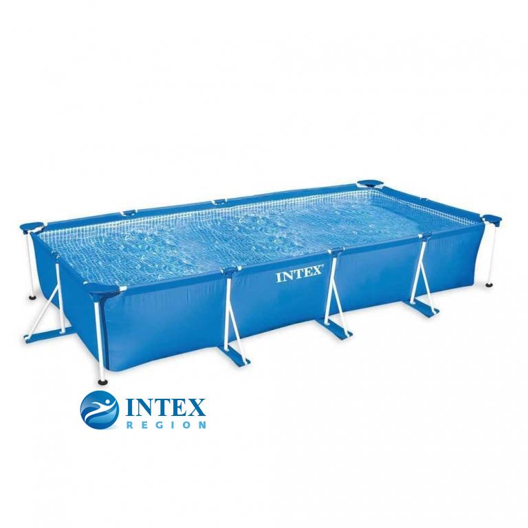 Каркасный бассейн Intex 28273 450х220х84 Rectangular Frame