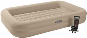 66810 Детский надувной матрас Kidz Travel Bed Set, 107х168х25см с ручным насосом