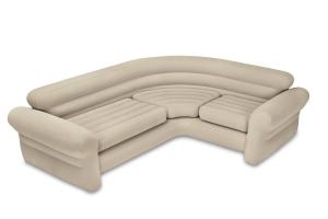 68575 Надувной угловой диван Corner Sofa, 257х203х76см