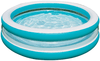 Бассейн 3 кольца Бирюза Intex арт.57489 203х51см, от 6 лет