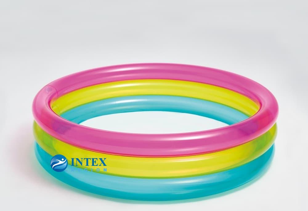 Бассейн 3 кольца Intex арт. 57104 86Х25см, на 1-3 года