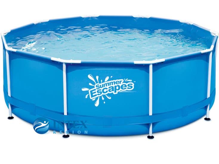 Каркасный бассейн SummerEscapes Р20-1042 305x106 Metal Frame