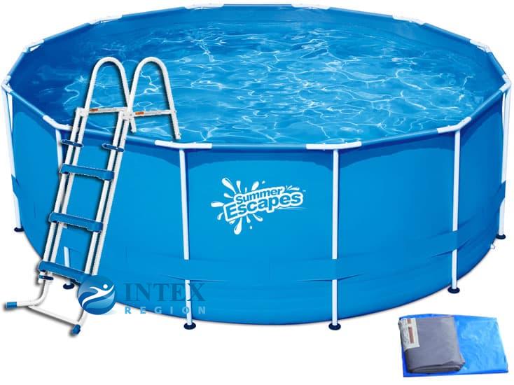 Каркасный бассейн SummerEscapes Р20-1352-Z 396x132 Metal Frame