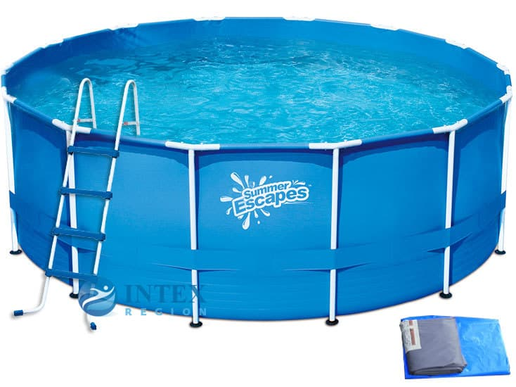 Каркасный бассейн SummerEscapes Р20-1452-Z 427x132 Metal Frame