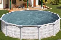 Каркасный бассейн GRE KITPR358NMAG круглый 350x132 см