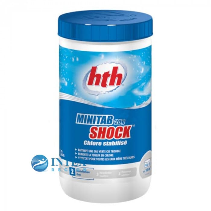 Быстрый стабилизированный хлор, MINITAB SHOCK, табл.20гр., 1,2кг
