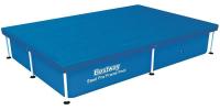 Тент-покрывало Bestway 58103 для прямоугольных каркасных бассейнов 221х150 см